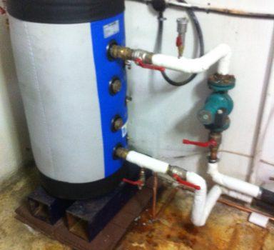 Φυσικό-Αέριο Μονάδα Συμπύκνωσης με buffer